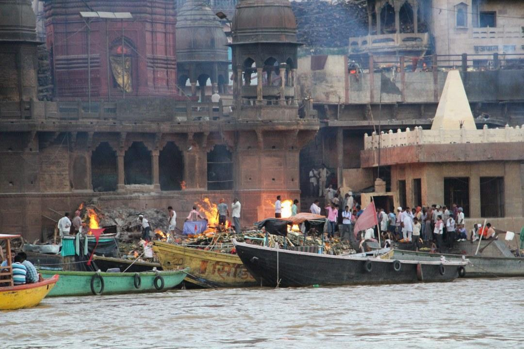 Funeral Fires on the Ganges