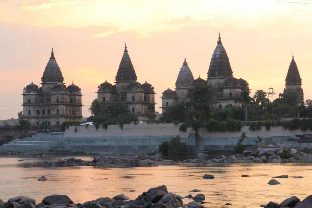 The Chaturbhuj Temple in Orchha